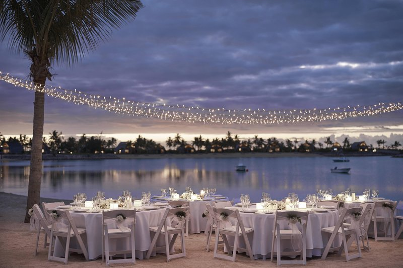 Fiji Marriott Resort Momi Bay-Vonu Beach - Wedding Reception<br/>Image from Leonardo