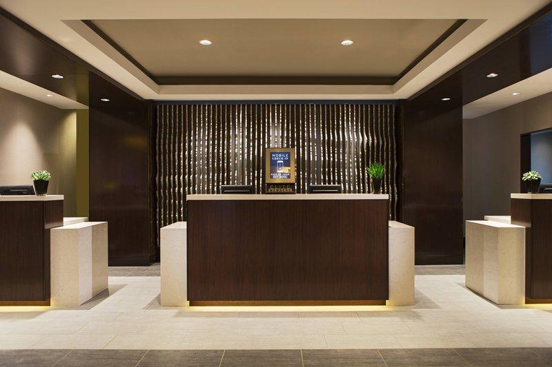 Calgary Marriott Hotel-Front Desk<br/>Image from Leonardo