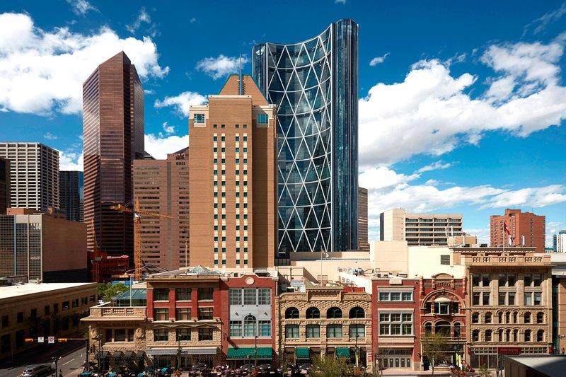 Calgary Marriott Hotel-City View<br/>Image from Leonardo