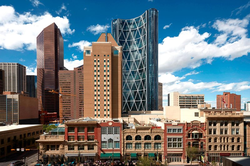 Calgary Marriott Downtown Hotel-City View<br/>Image from Leonardo