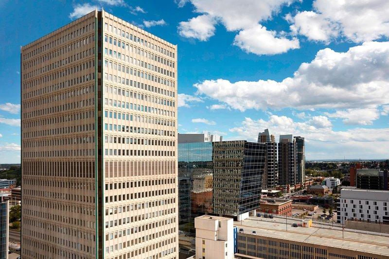 Calgary Marriott Downtown Hotel-Skyline View<br/>Image from Leonardo