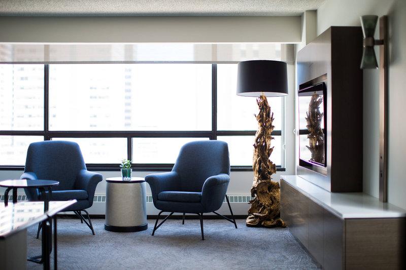 Calgary Marriott Downtown Hotel-Premier Suite Living Area<br/>Image from Leonardo