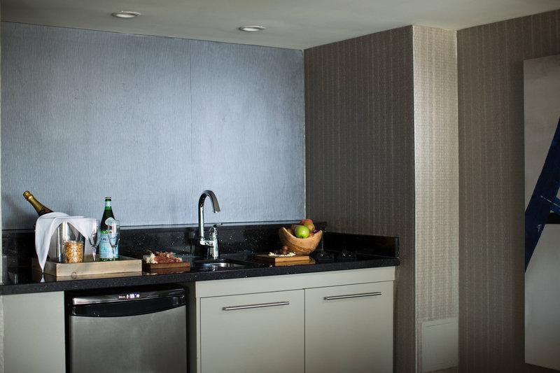 Calgary Marriott Downtown Hotel-Premier Suite Kitchen Area<br/>Image from Leonardo