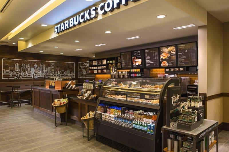 Calgary Marriott Downtown Hotel-Starbucks®<br/>Image from Leonardo