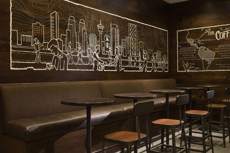 Calgary Marriott Hotel-Starbucks®<br/>Image from Leonardo