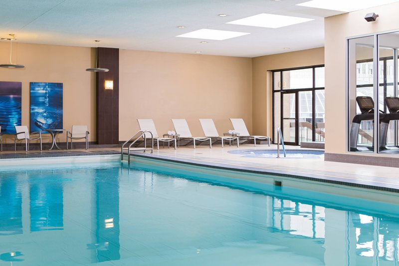 Calgary Marriott Downtown Hotel-Indoor Pool<br/>Image from Leonardo