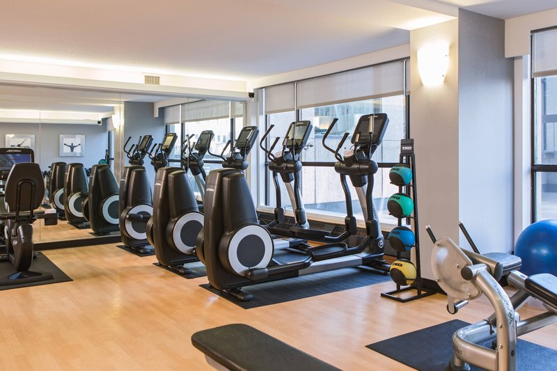 Calgary Marriott Downtown Hotel-Fitness Centre<br/>Image from Leonardo