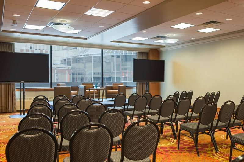 Calgary Marriott Hotel-Acadia Meeting Room – Theater Setup<br/>Image from Leonardo