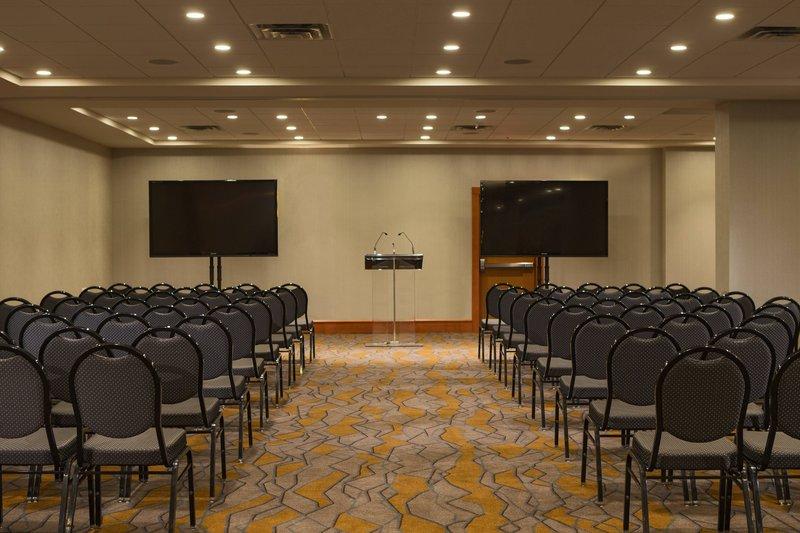 Calgary Marriott Hotel-Sunalta Meeting Room - Theatre Setup<br/>Image from Leonardo