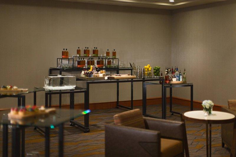 Calgary Marriott Downtown Hotel-Sunalta Meeting Room - Reception Setup<br/>Image from Leonardo