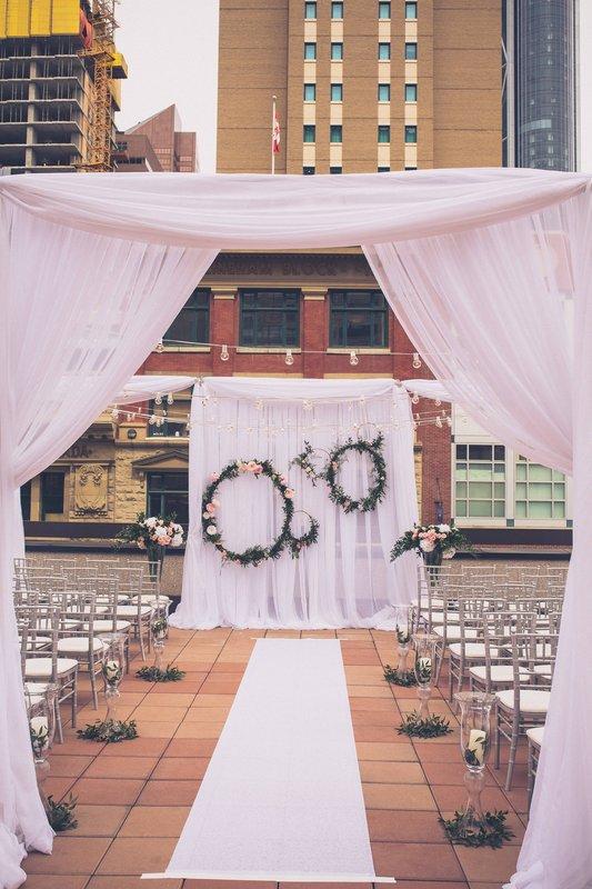 Calgary Marriott Downtown Hotel-Wedding Ceremony<br/>Image from Leonardo