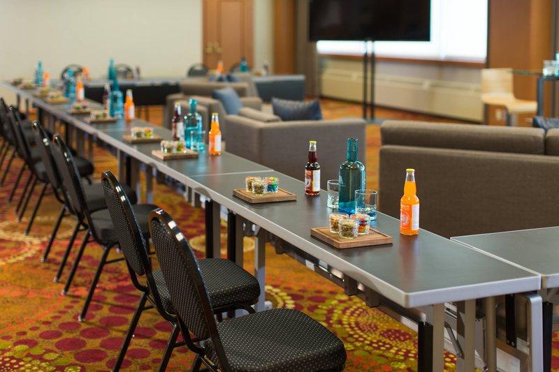 Calgary Marriott Hotel-Acadia Meeting Room – U-Shape Setup<br/>Image from Leonardo
