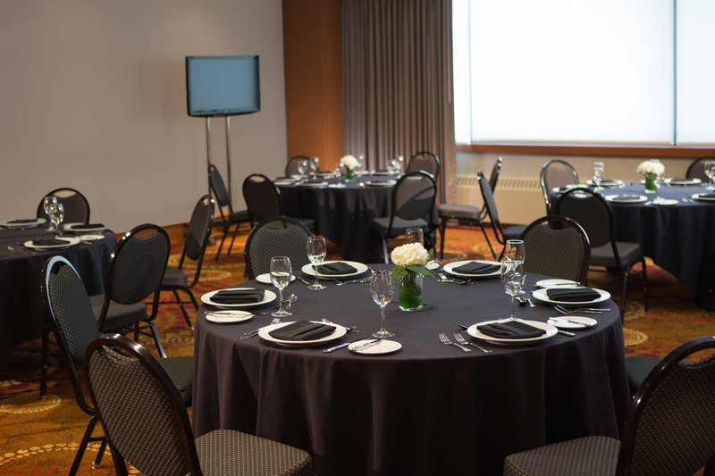 Calgary Marriott Downtown Hotel-Kensington Ballroom - Banquet Setup<br/>Image from Leonardo