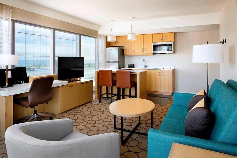 Delta Hotels by Marriott Toronto-Extended Stay Suite Living Area<br/>Image from Leonardo