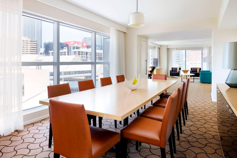 Delta Hotels by Marriott Toronto-Hospitality Suite Dining Area<br/>Image from Leonardo