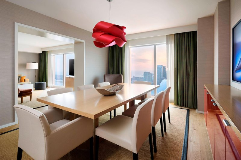 Delta Hotels by Marriott Toronto-Chairman Suite Dining Area<br/>Image from Leonardo