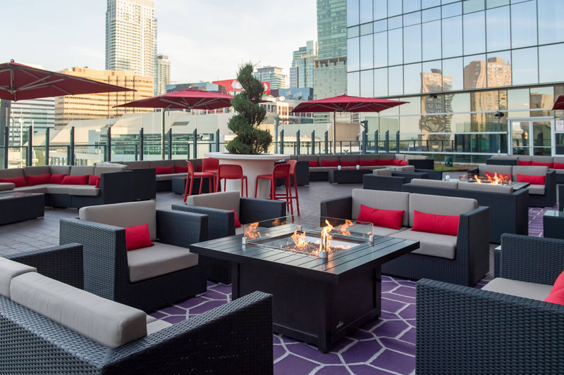Delta Hotels by Marriott Toronto-The Roof at SOCO - Fire Pit<br/>Image from Leonardo