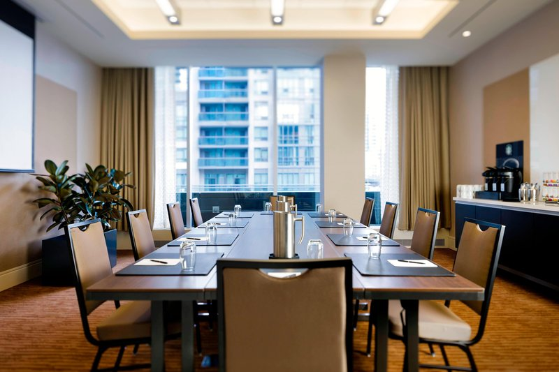 Delta Hotels by Marriott Toronto-Cabbagetown Meeting Room - Boardroom Setup<br/>Image from Leonardo