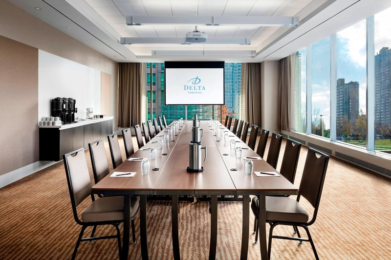 Delta Hotels by Marriott Toronto-Harbourfront Meeting Room - Boardroom Setup<br/>Image from Leonardo