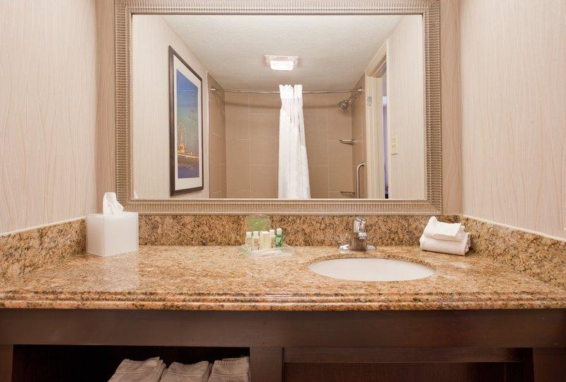 Holiday Inn Resort Galveston-On The Beach-Guest Bathroom<br/>Image from Leonardo