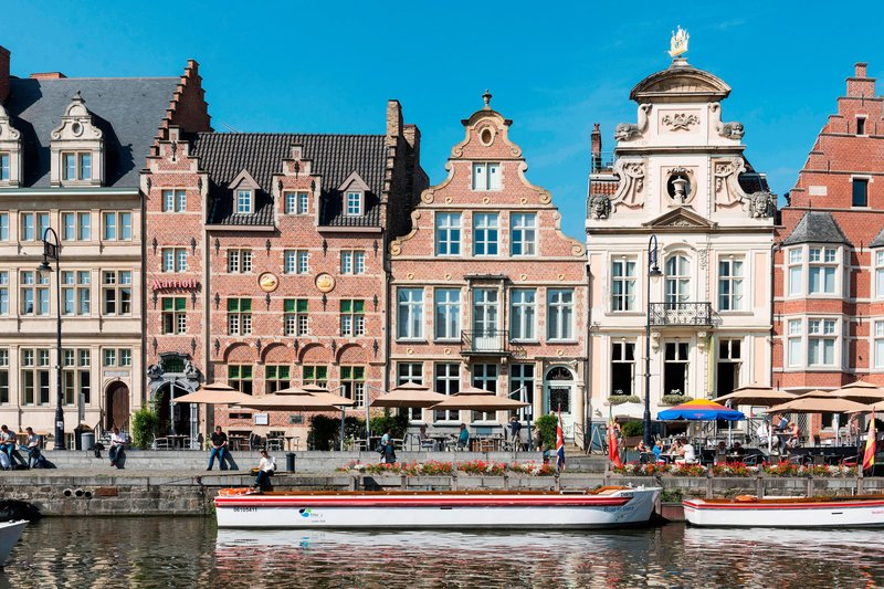 Ghent Marriott Hotel-Exterior<br/>Image from Leonardo