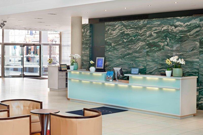 Ghent Marriott Hotel-Front Desk<br/>Image from Leonardo