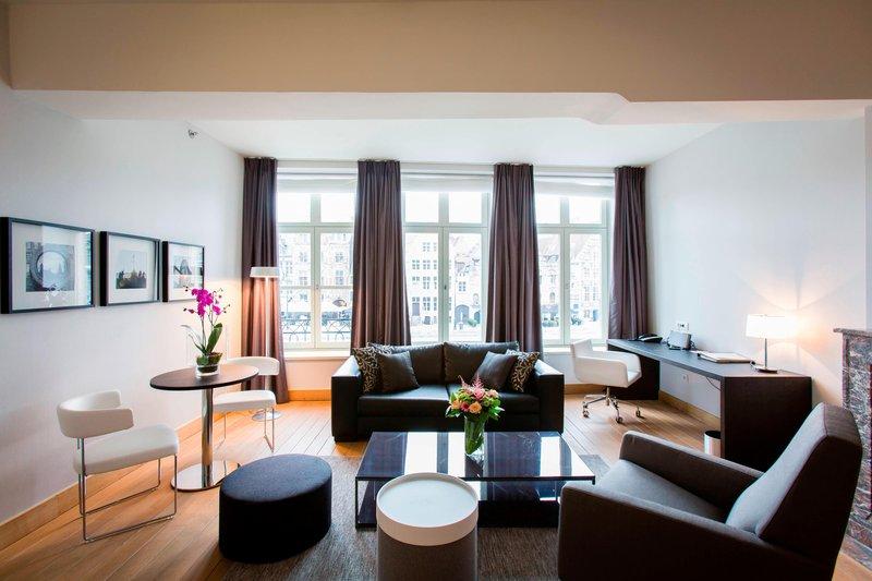 Ghent Marriott Hotel-Presidential Suite - Living Area<br/>Image from Leonardo