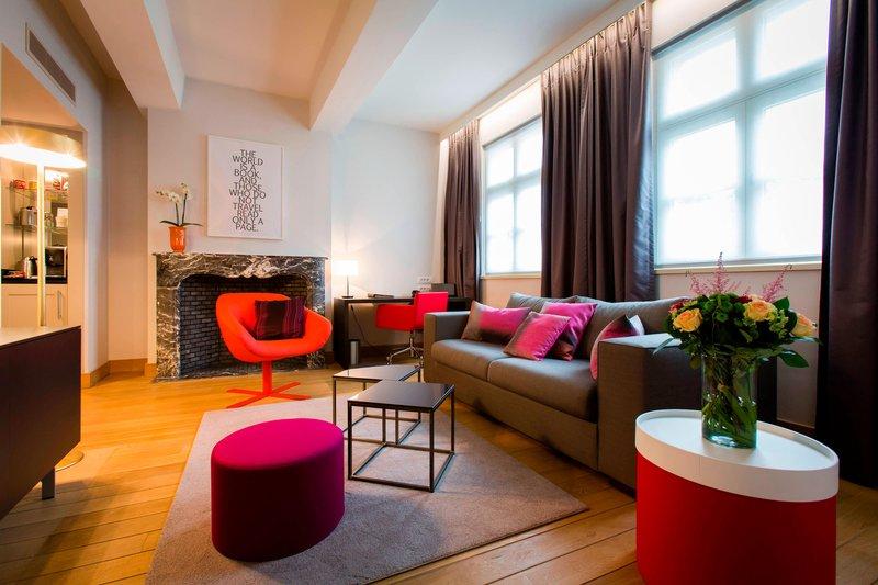 Ghent Marriott Hotel-Senior Suite<br/>Image from Leonardo