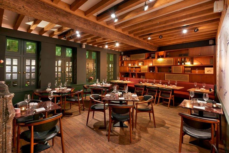 Ghent Marriott Hotel-Midtown Grill - Manhattan Room<br/>Image from Leonardo