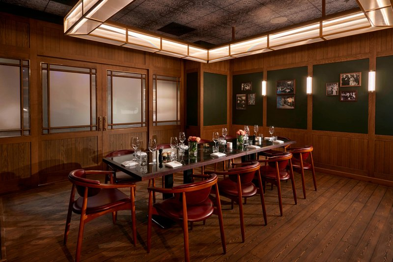 Ghent Marriott Hotel-Midtown Grill - Private Dining Room<br/>Image from Leonardo