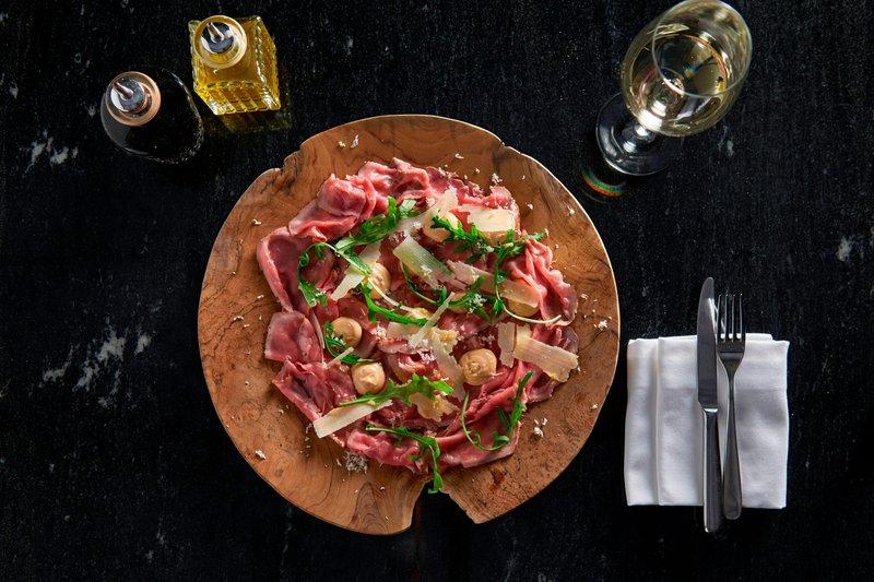 Ghent Marriott Hotel-Midtown Grill - Roast Beef Carpaccio<br/>Image from Leonardo
