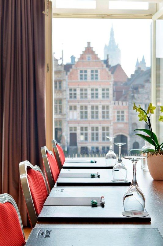 Ghent Marriott Hotel-Presidential Suite - Meeting Room Setup<br/>Image from Leonardo