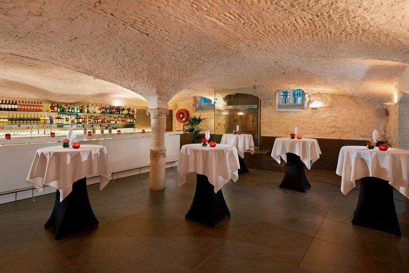 Ghent Marriott Hotel-Brixx Cellar Lounge - Event Setup<br/>Image from Leonardo