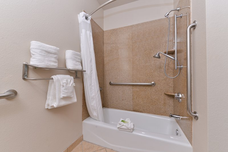 Holiday Inn Express & Suites Sherman HWY 75-Guest Bathroom<br/>Image from Leonardo