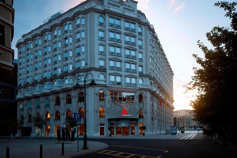 Skopje Marriott Hotel-Exterior<br/>Image from Leonardo