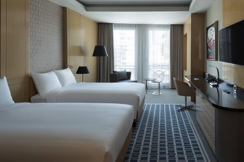 Skopje Marriott Hotel-Twin Guest Room<br/>Image from Leonardo