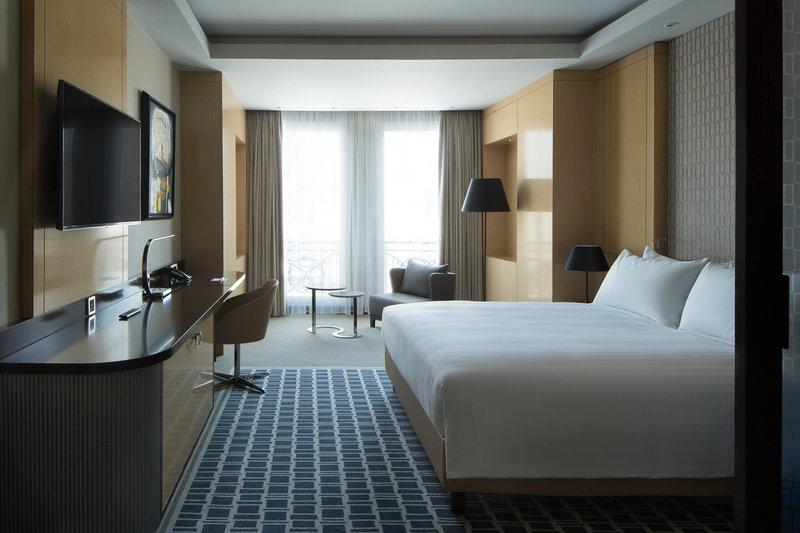 Skopje Marriott Hotel-King Deluxe Guest Room<br/>Image from Leonardo