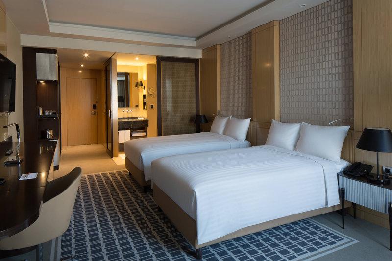 Skopje Marriott Hotel-Double Deluxe Twin Guestroom<br/>Image from Leonardo