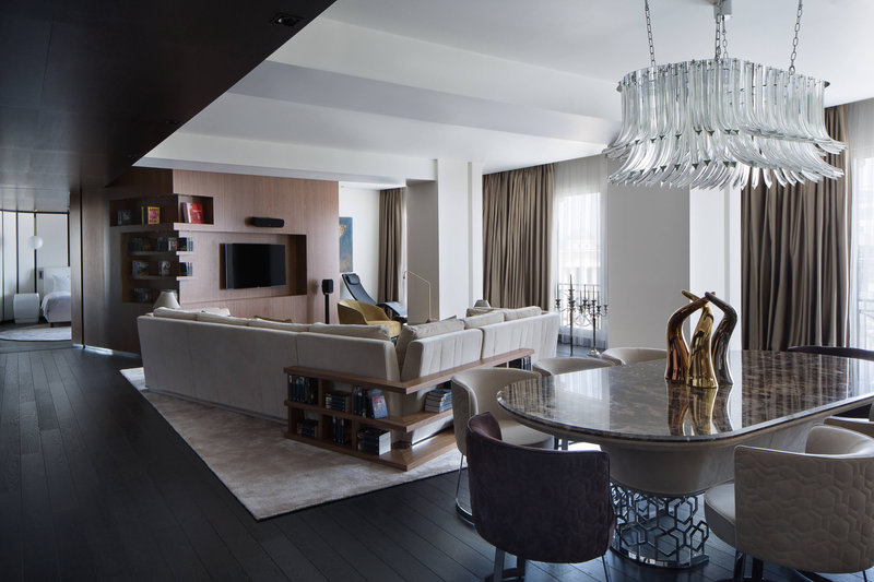 Skopje Marriott Hotel-Presidential Suite - Living Room<br/>Image from Leonardo