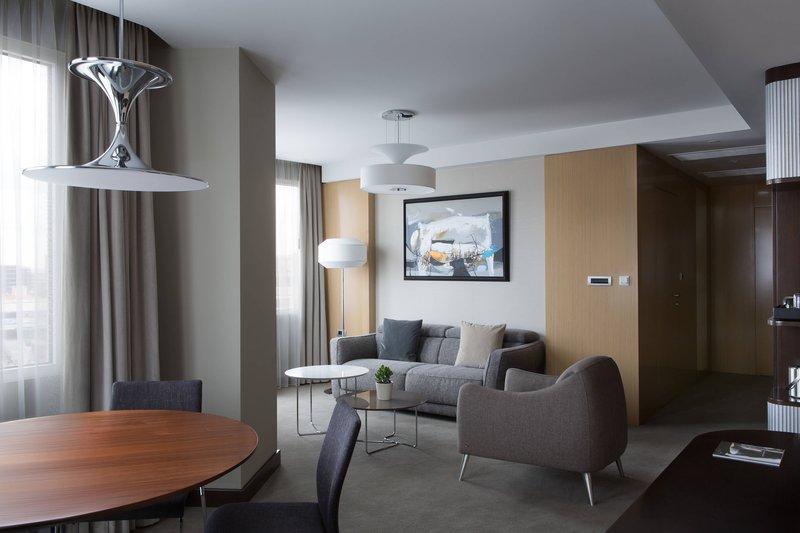 Skopje Marriott Hotel-Premier Suite - Living Area<br/>Image from Leonardo