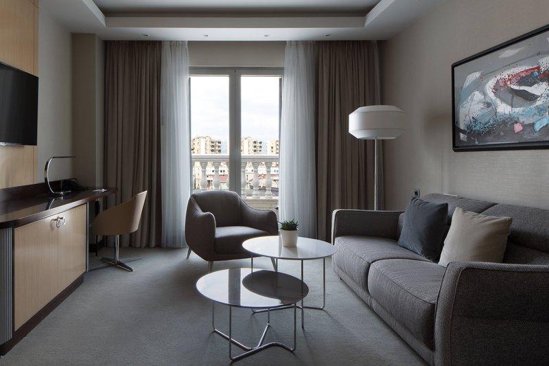 Skopje Marriott Hotel-Executive Suite - Living Room<br/>Image from Leonardo