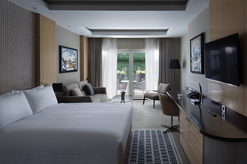 Skopje Marriott Hotel-King Guest Room<br/>Image from Leonardo