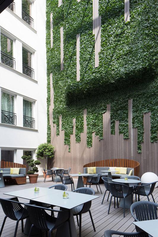Skopje Marriott Hotel-Executive Lounge -Terrace<br/>Image from Leonardo