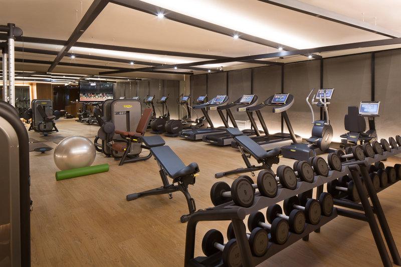 Skopje Marriott Hotel-Fitness Center<br/>Image from Leonardo