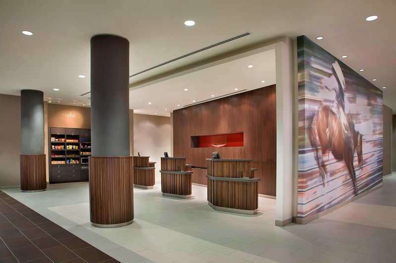 Courtyard Calgary Airport-Welcome Pedestals<br/>Image from Leonardo