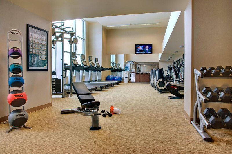 Courtyard Calgary Airport-Fitness Centre<br/>Image from Leonardo