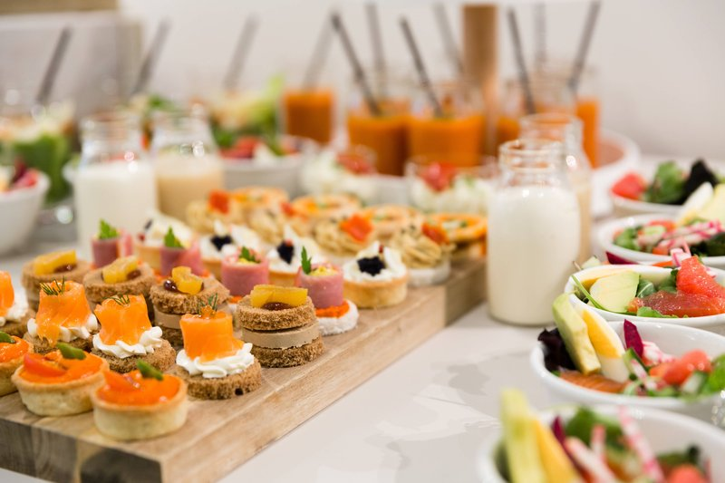 Courtyard Brussels-Courtyard Lounge & Dining - Savory Canapés<br/>Image from Leonardo