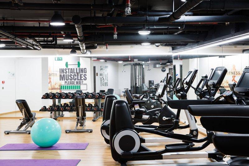 Courtyard Brussels-Fitness Center<br/>Image from Leonardo