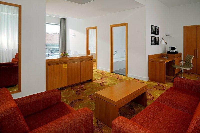 Courtyard Budapest City Center-Executive Suite Livingroom Area<br/>Image from Leonardo