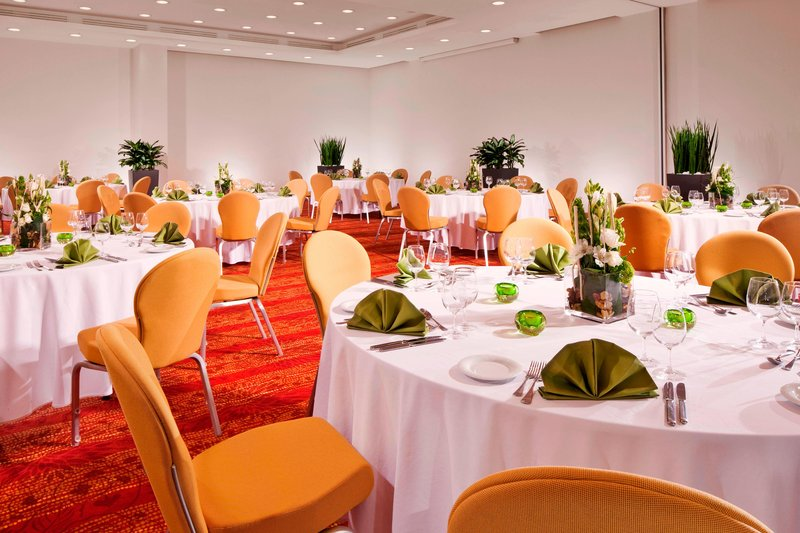 Courtyard Budapest City Center-Blaha Lujza Ballroom - Banquet Setup<br/>Image from Leonardo